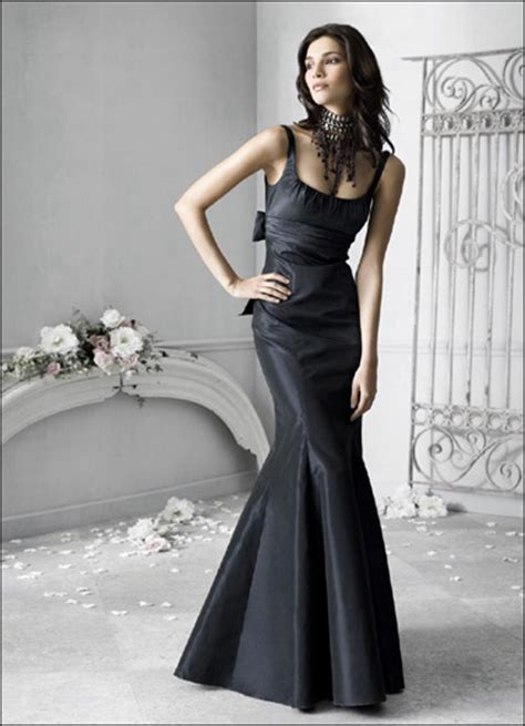 evening dresses for weddings black evening wedding dress sang maestro