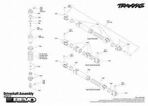 7105 Driveshafts Exploded View  1  16 E