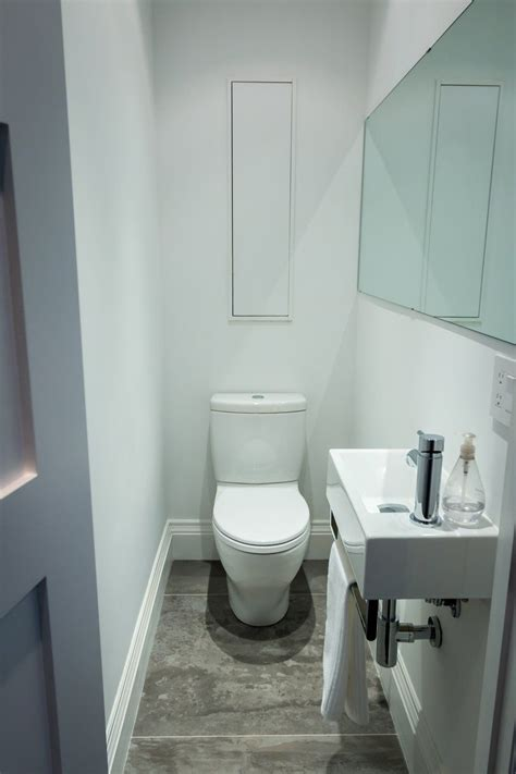 Ideas Small Cloakrooms by Meg Steve S Nest Small Bathroom Ideas Tiny