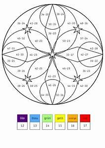 Rechen, Mandalas, Zum, Ausdrucken, 4, Klasse