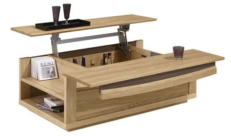table basse chambre revger com table basse convertible bois idée