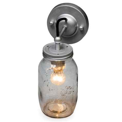 jam jar black flex wall light wall lighting at homesdirect365