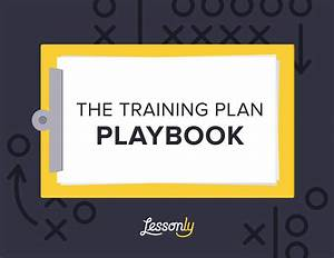 Free employee training playbook for Staff training manual template