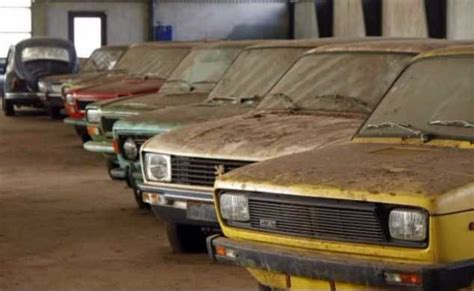 Amazing Images Of Abandoned Car Dealership And Cars Around