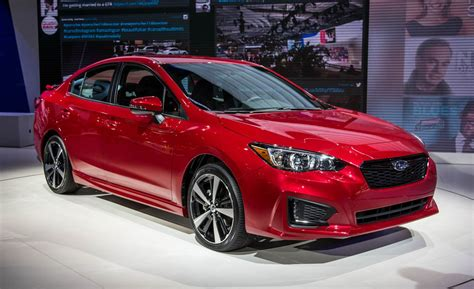 2017 Subaru Impreza Sedan/hatchback Photos And Info