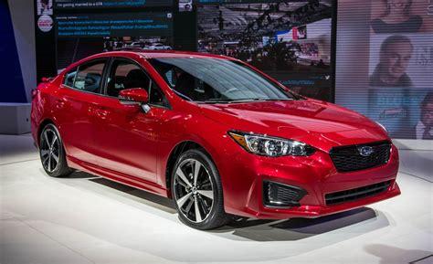 hatchback subaru 2017 2017 subaru impreza sedan hatchback photos and info news