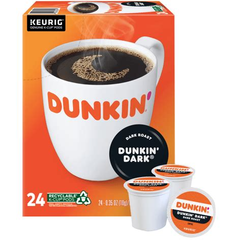 Enjoy the extra sweet, extra creamy taste of dunkin' donuts® extra extra® creamer in your coffee. Dunkin' Donuts® Coffee Single-Serve K-Cup®, Dark Roast, 0.4 Oz, Carton Of 24 - Zerbee