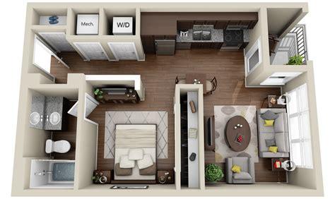 2 apartments and condos 3dplans
