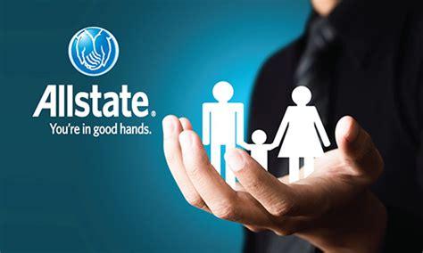 blue allstate business card design
