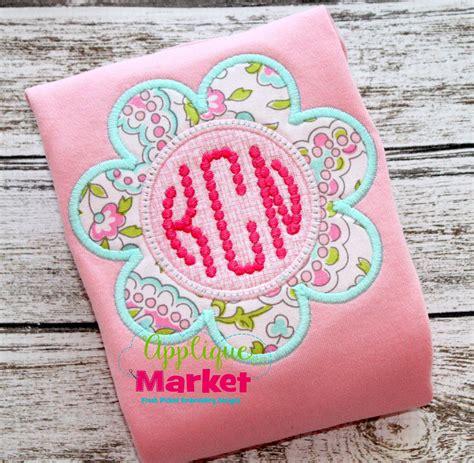 Applique Market by Flower Frame Summer Appliqu 233 S Machine Embroidery