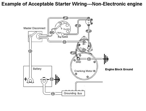Prime Remote Starter Wiring Schematic by Acceptable Starter Motor Wiring With Mag Switch