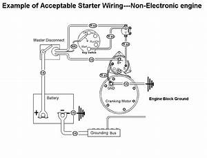 Engaged Starter Motor Wiring Diagram