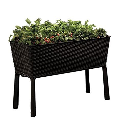 Sams Club Wicker Deck Box by Raised Planter Box Patio Deck Flower Garden Vegetables