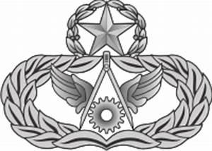 AF Master Civil Engineer Badge (Silver) Decal | North Bay ...