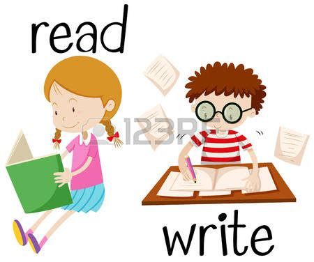 Reading And Writing Clipart  101 Clip Art