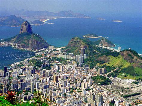 World Visits Rio De Janeiro Skyline
