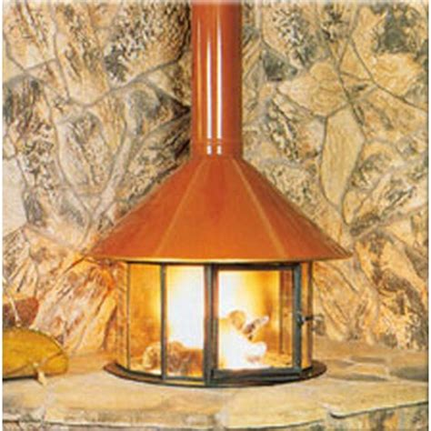 malm imperial carousel wood burning  gas fireplace