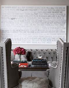 Upholstered dining bench with nailhead trim transitional for What kind of paint to use on kitchen cabinets for john richard collection wall art