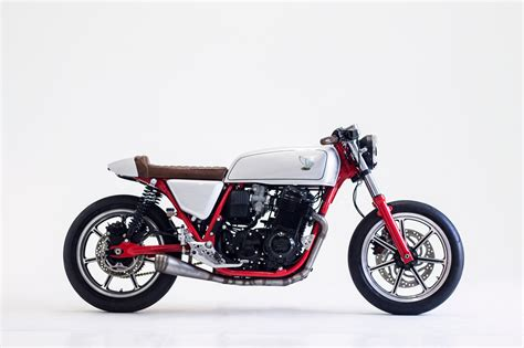 Honda Cb750k Cafe Racer By Herencia Custom Garage Bikebound