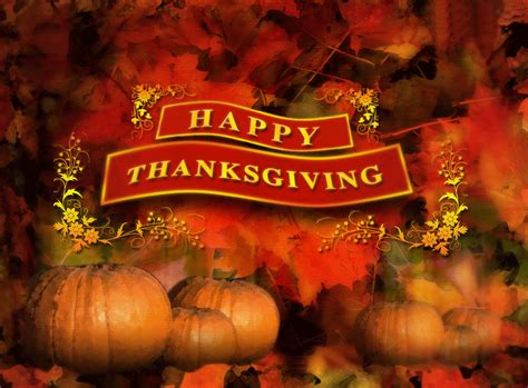 Happy Thanksgiving Backgrounds Happy Thanksgiving