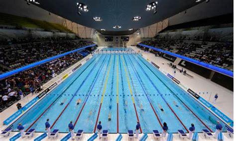 London 2012 Organisers Play It Cool Over Aquatics Centre