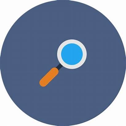 Icon Explore Magnifier Glass Web Zoom Editor