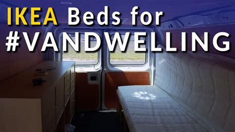 ikea custom bed  vandwelling youtube