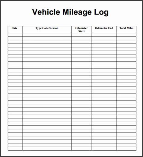 vehicle mileage log  sampletemplatess
