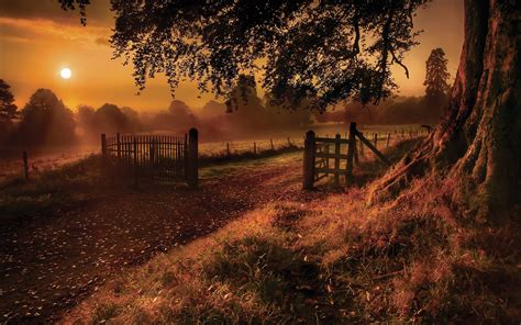 Pumpkin Patch South Bend by Daily Wallpaper Old Road Sunset I Like To Waste My Time