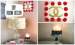 Diy room decor cute simple youtube for Simple room decoration ideas for t