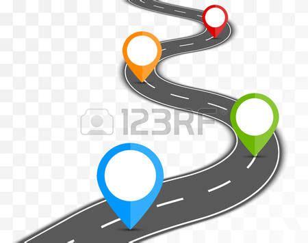 path clipart road milestone pencil   color path