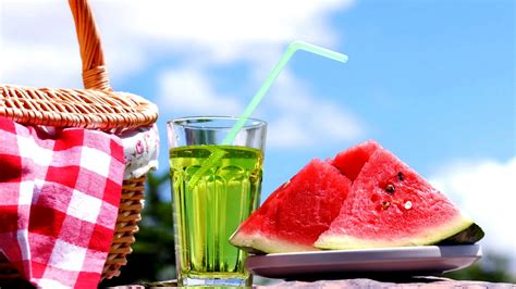 summer season drinks with watermelon free hd wallpapers