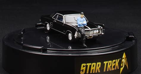 trek collective hot wheels tiny spock