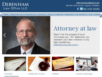 administrative lawyers topeka estate planing probate
