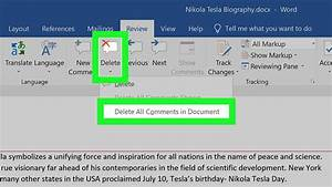 How To Hide Or Delete Comments In Microsoft Word  10 Steps