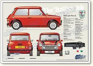 Italian Job LE 1992 Classic Mini Pinterest Minis