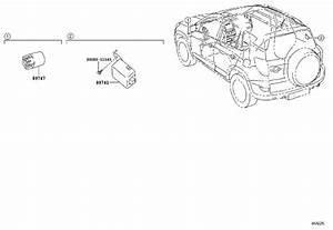 Toyota Rav4 Buzzer  Engine  Cowl  Room
