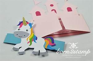 Einhorn Basteln Papier : einladungskarten kindergeburtstag selber machen einladungskarten ideen einladungskarten ideen ~ Markanthonyermac.com Haus und Dekorationen
