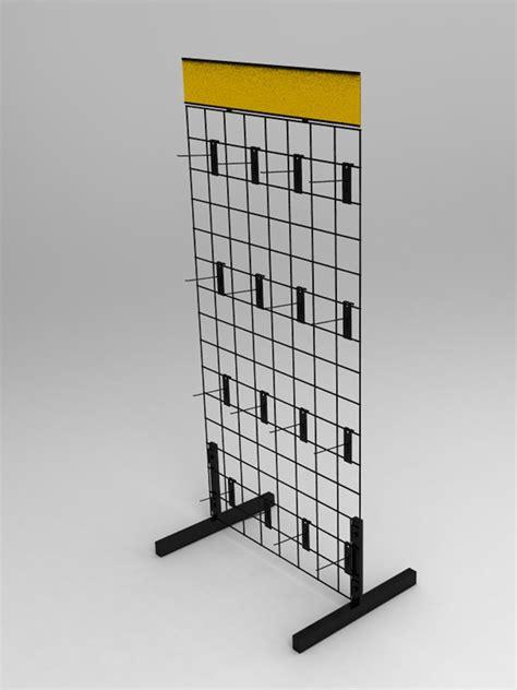 wire display racks wire gridwall display rack 11051 ebay