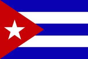 Cuban Cuba Flag
