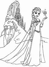 Elsa Coloring Castle Pages Ice Queen Frozen Amazing Anna Printable Colouring Coloringsky Disney Elsas Template Chrysalis Sky Hide Sheets Snow sketch template