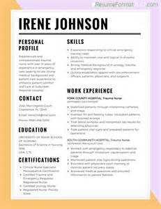 resume sle for nurses resume best format for nurses 2017 resume format 2017