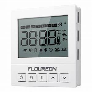 Lcd Programmable Wifi Smart Thermostat Controller For