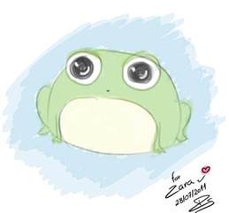 Cute Little Frog Drawings