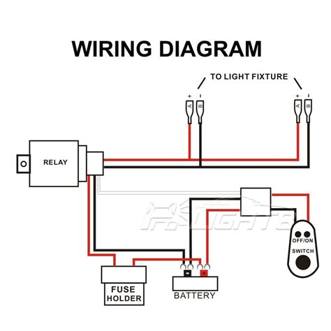 Led Light Bar Wiring Diagram With Switch Circuit