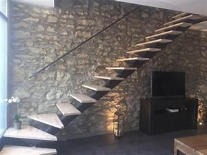 Escalier Bois Quart Tournant : escalier quart tournant gard ~ Farleysfitness.com Idées de Décoration