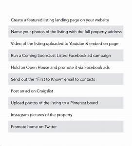 real estate marketing plan template 8 free word excel With commercial real estate marketing plan template