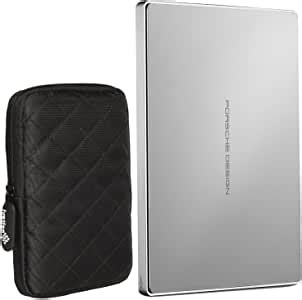 This is helpful this is unhelpful 1 of 1 people found this review helpful. Amazon.com: LaCie Porsche Design 1TB USB-C Mobile Hard Drive, Silver (STFD1000402) and Ivation ...