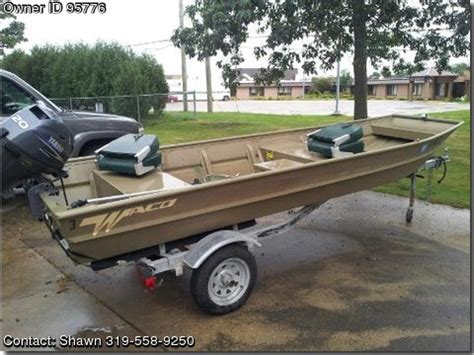 Waco Aluminum Boats by 2007 Waco Flatbottom Loads Of Boats
