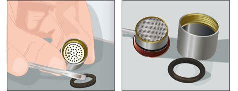 bouchon salle de bain d 233 tartrer un mousseur de robinet plomberie